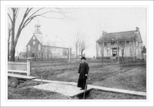 photo d'archive du vieux presbytère