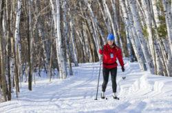 personne en ski