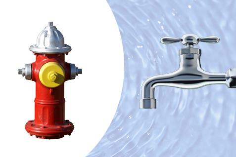 Rinçage du réseau d'aqueduc et inspection des bornes d'incendie
