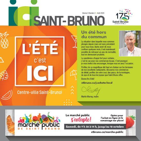 Ici Saint-Bruno aout 2020