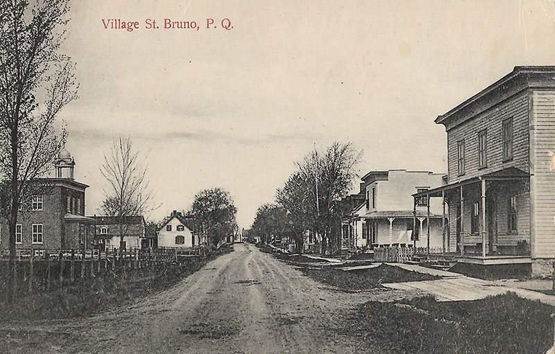 village de Saint-Bruno