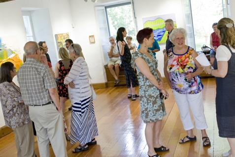exposition artistes locaux