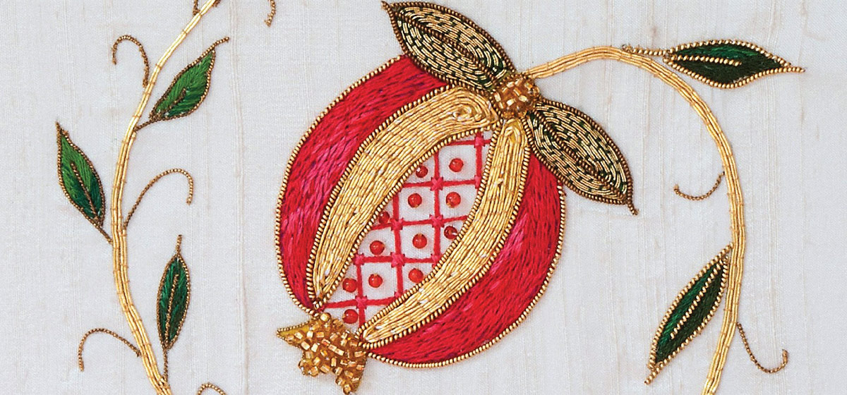Lise-Anne Caron, Pomme grenade (détail)