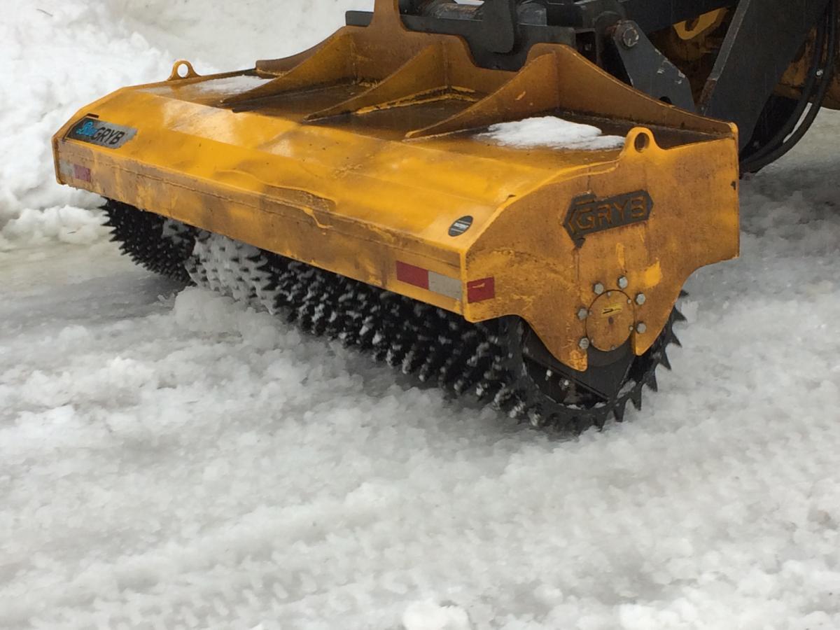 Briseur de glace - Opérations de déneigement 24 janvier 2019