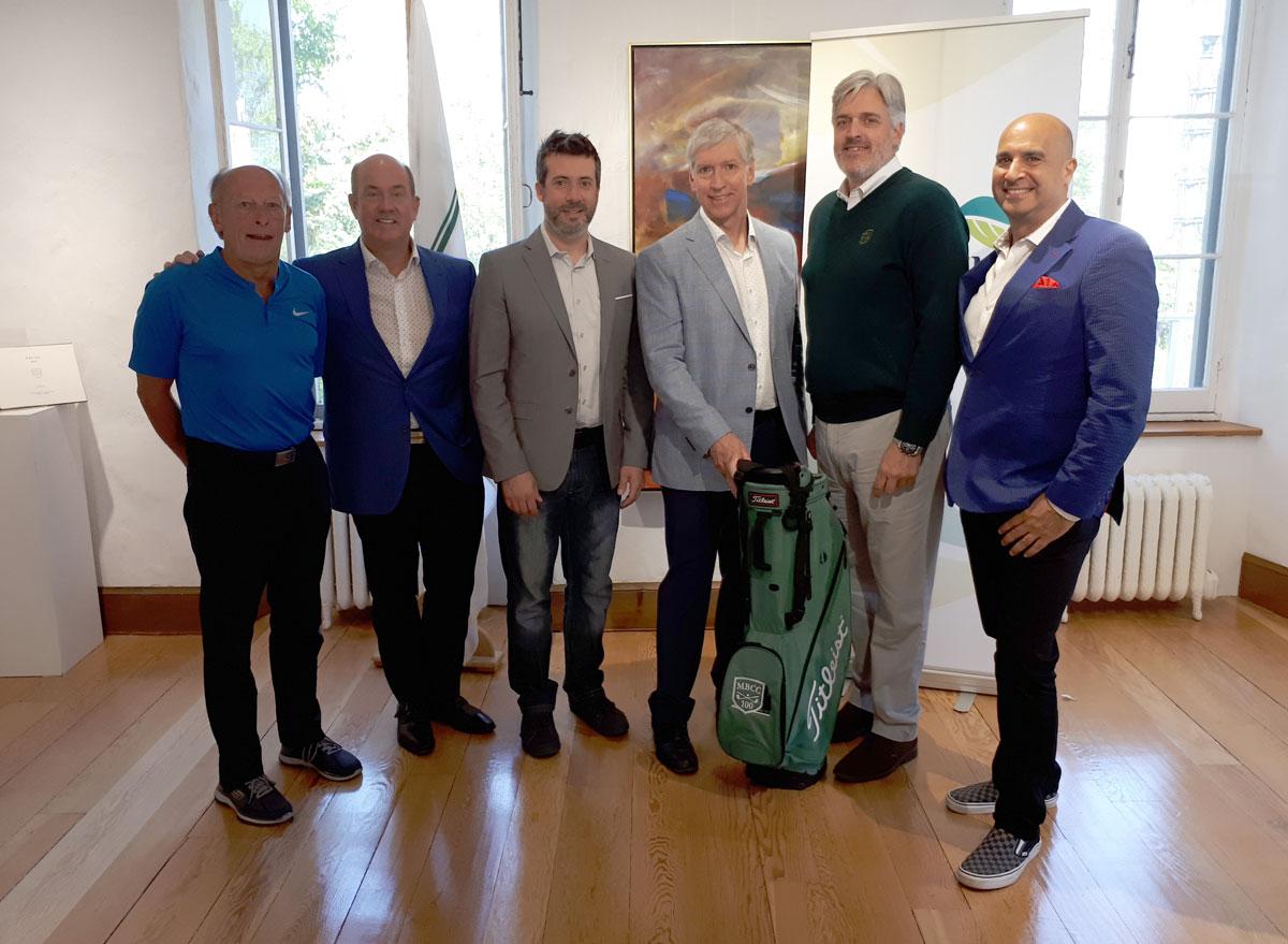lancement tournoi de golf